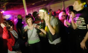 Barley country ... a Shoreditch rave. Photograph: Alamy