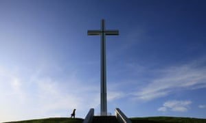 The Papal Cross in Phoenix Park, Dublin. The letter argues: 'Ireland stands out as legislating for the recent views expressed by the pope … that one cannot insult another person's faith.'