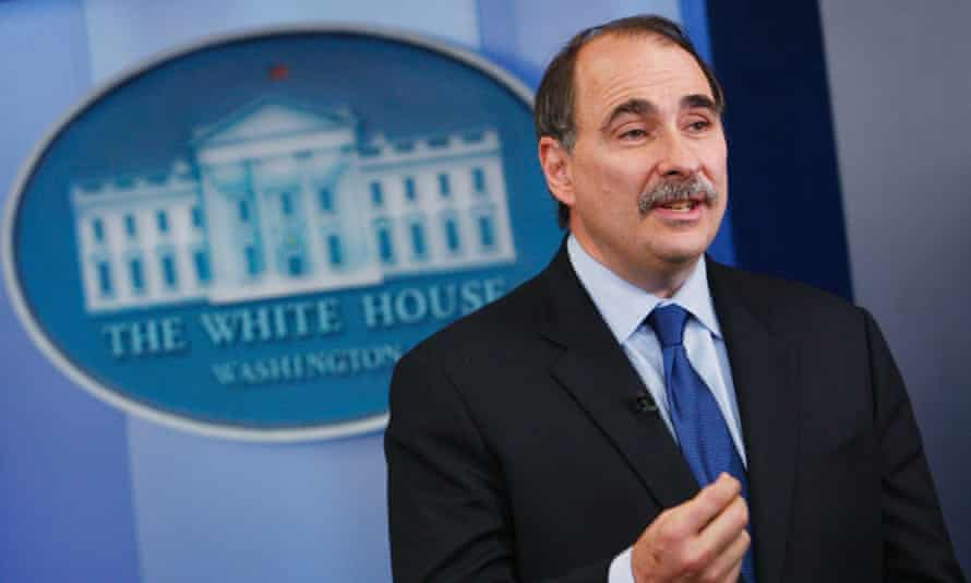 David Axelrod at the White House in 2009.