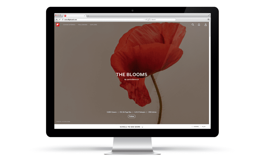 Flipboard's magazines will be part of its new website.