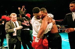 Douglas and Tyson
