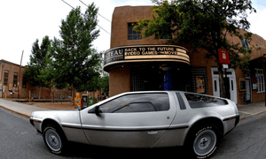 The Cocteau cinema in Santa Fe.