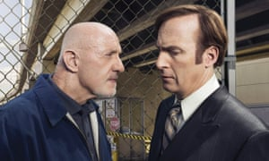 Walter who? Better Call Saul's Mike Ehrmantraut (Jonathan Banks), left, and Saul Goodman (Bob Odenkirk).