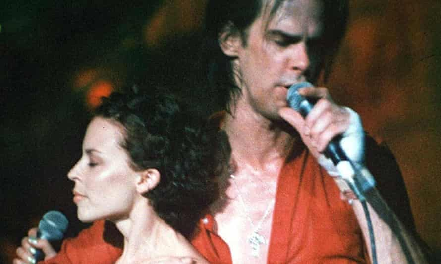 Time to get the dream team back together for Eurovision 2015? Nick Cave and Kylie Minogue at Brixton Academy in 1996.