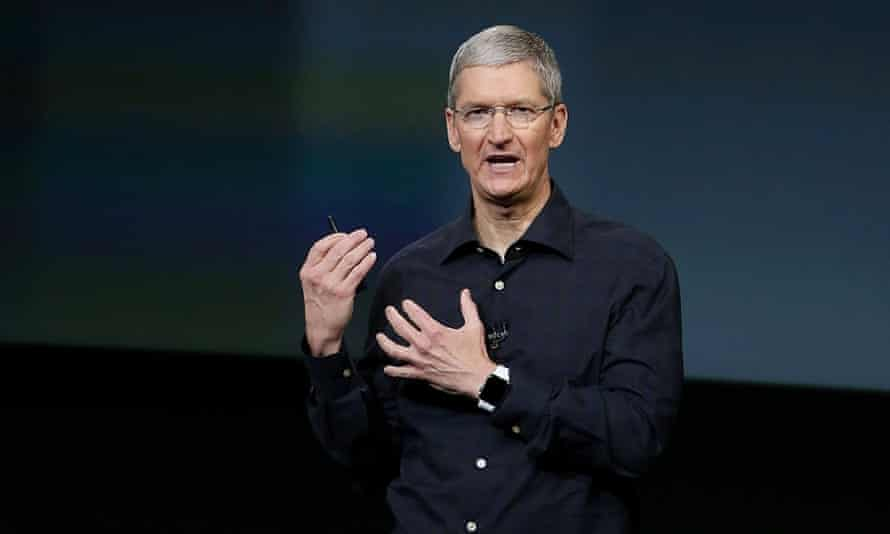 Tim Cook stands up for... standing up, ahead of Apple Watch launch.