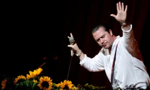 Faith No More perform live in 2012.