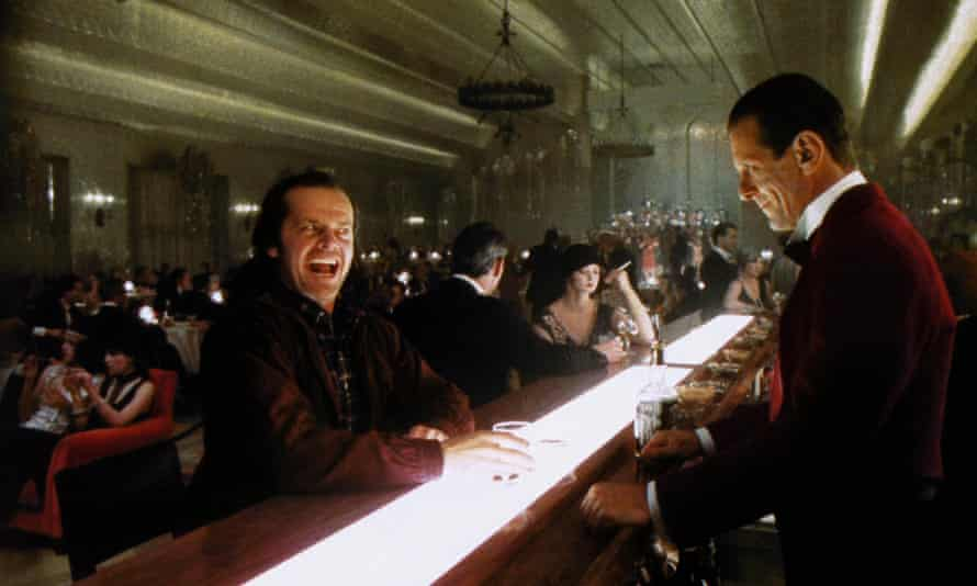 Jack Nicholson in The Shining.