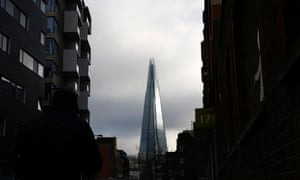 The mixed-use Shard stands alone from its traditional London Bridge surroundings.