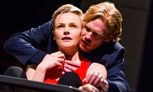 Maxine Peake (Dana) and Michael Shaeffer (Jarron) in How to Hold Your Breath