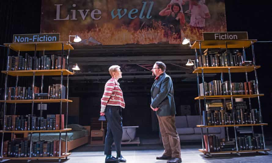 Maxine Peake and Peter Forbes in How to Hold Your Breath.
