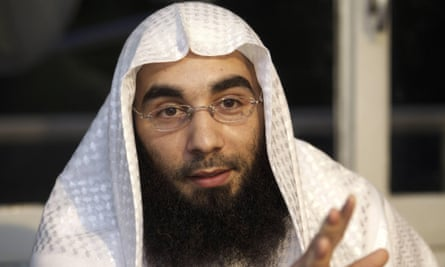 Sharia4Belgium spokesman Fouad Belkacem, who has been sentenced to 12 years in prison.