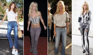 Alexa Chung, Britney Spears, Kate Moss and Heidi Klum. Noughties or now?
