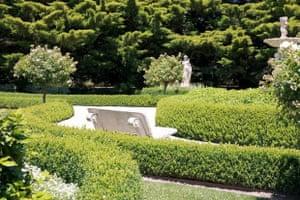 The White Garden at Jacaranda