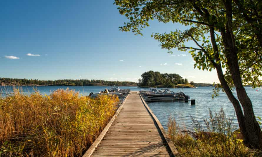 Early autumn in St. Anna Archipelago, Sweden.