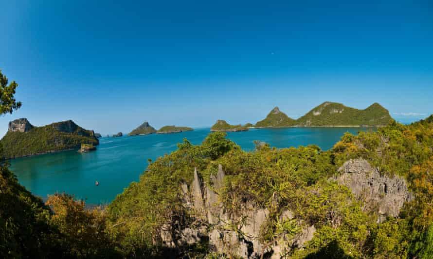 Mae Ko island, Angthong National Marine Park, Thailand
