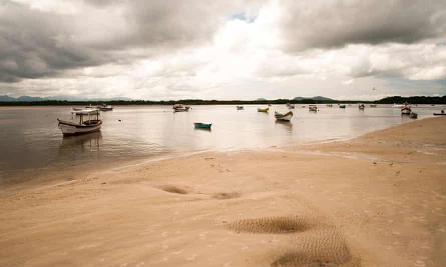 Beach at Ilha das Pecas, Brazil.