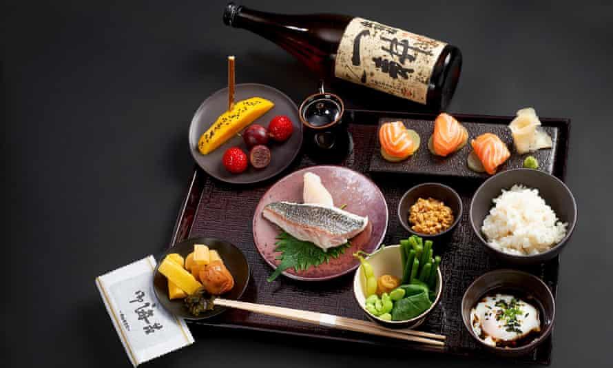 Japanese Breakfast, Four Seasons Hotel George V Paris