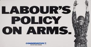 On the warpath ... Tories attack in 1987. Photograph: The Conservative Party Archive/Getty Images