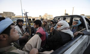 "A day after taking power, Shiite rebels in Yemen found themselves increasingly under pressure Saturday as thousands protested against their rule and a group of nearby countries denounced their ""coup."""