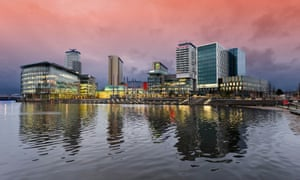 'Media City' at Salford Quays, Manchester.