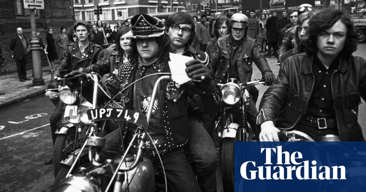 The Black Angel bikers of the north east: from the archive ...