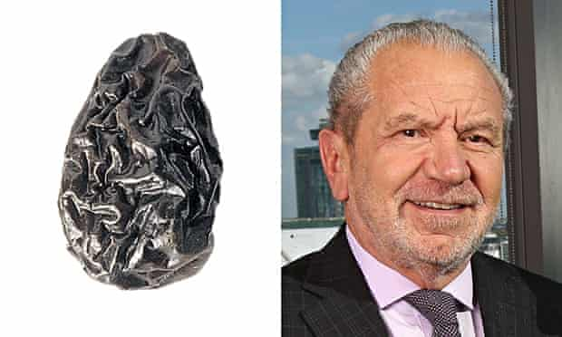 Lord Sugar and a prune.