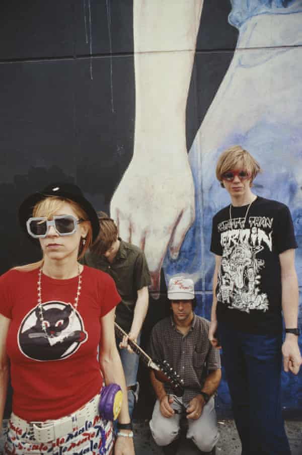 Sonic Youth in 1992.