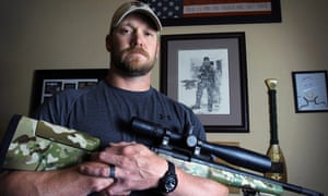 Chris Kyle, whose story is told in the autobiography and film American Sniper.
