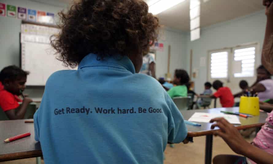aboriginal kids in school