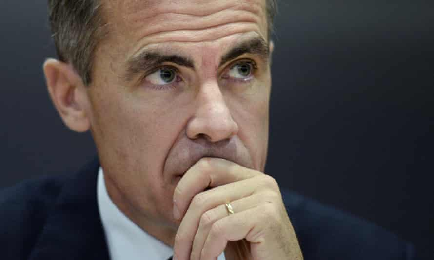 The Governor of the Bank of England Mark Carney is expected to cut inflation forecasts.