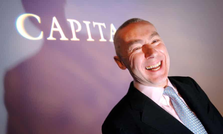 Capita's chief executive Paul Pindar