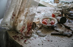 Kitchen table by Sergei Ilnitsky. 1st Prize in General News Singles category.