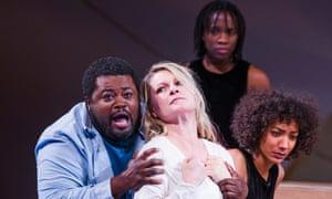 Cast of The Gospel According To The Other Mary, an English National Opera production.