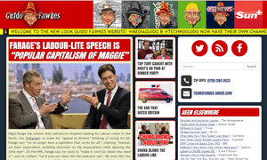 The Guido Fawkes redesign will offer new environment, technology and media channels