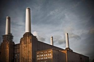 Battersea Power Station London Alamy