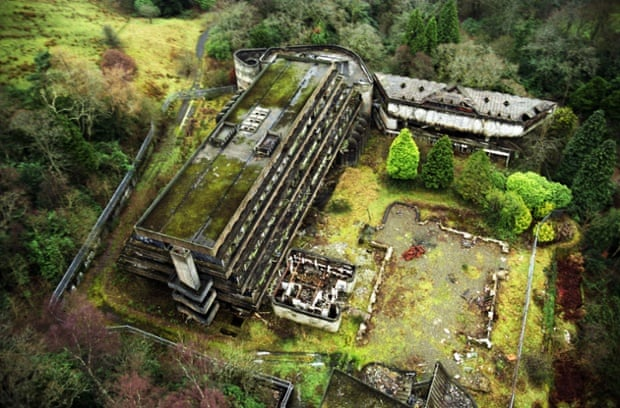 Cardross, St Peter's seminary Cardross, near Glasgow Alamy Ruins