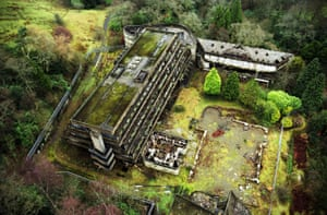Cardross, St Peter's seminary Cardross, near Glasgow Alamy Ruins