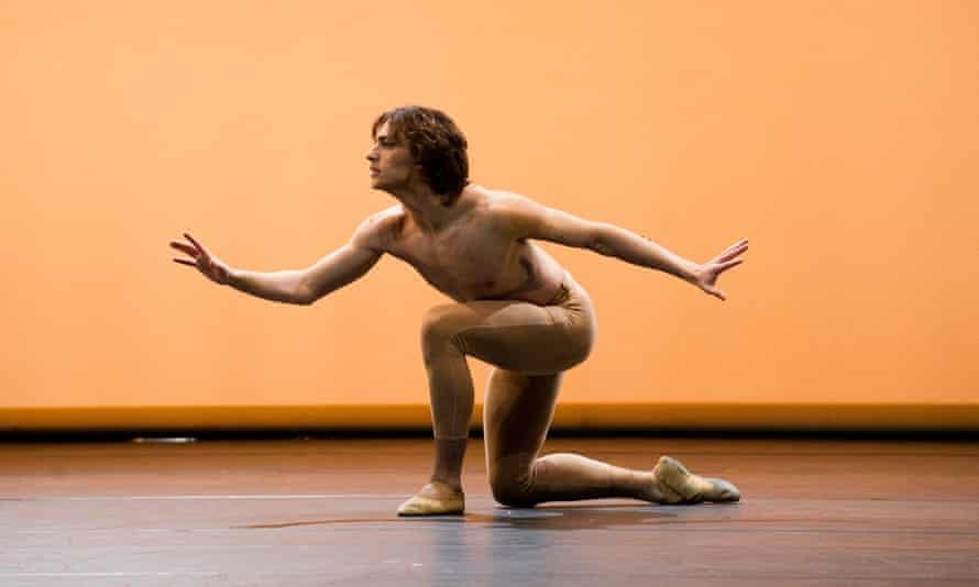 Sergei Polunin in Narcisse from Men in Motion at Sadler's Wells.