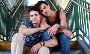 Franco and Justin Kelly in I Am Michael.