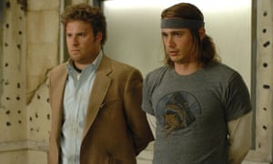 Franco with Seth Rogen in Pineapple Express.