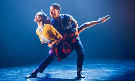 Kanika Carr and Jacob Wye in Kit Holder's To Fetch a Pail of Water by Ballet Black