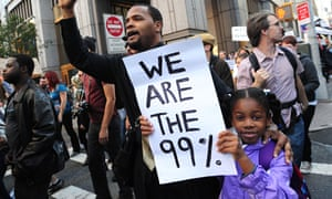 Occupy protest we are the 99%