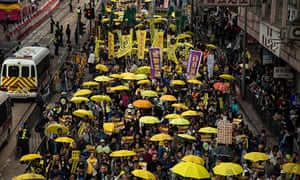 Pro Democracy Supporters Stage A Rally In Hong Kong