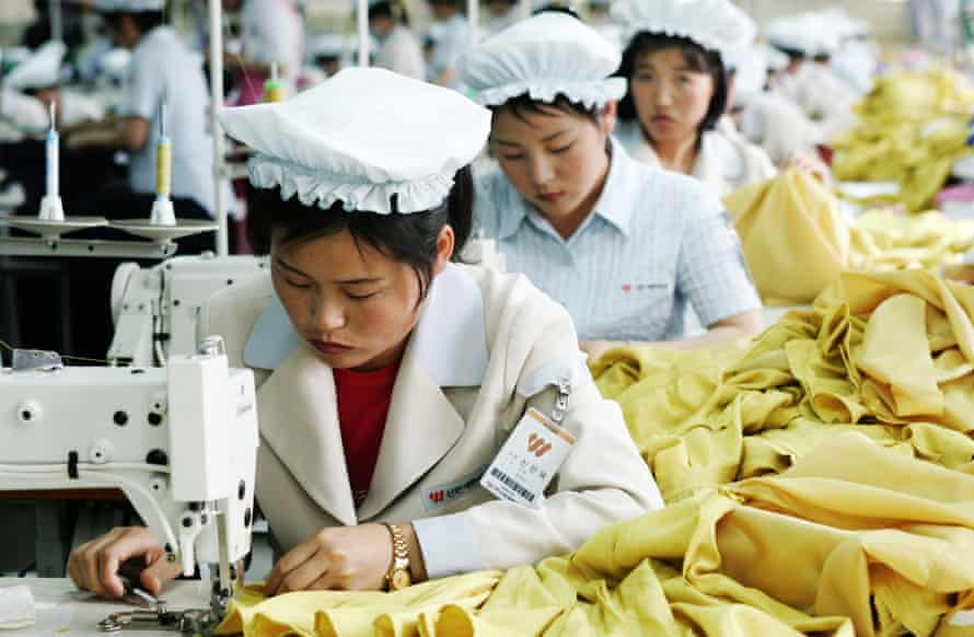North Korean women often have to work to feed their families.