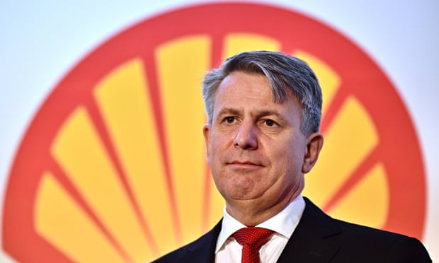 Ben van Beurden, chief executive officer of Royal Dutch Shell, January 2015.