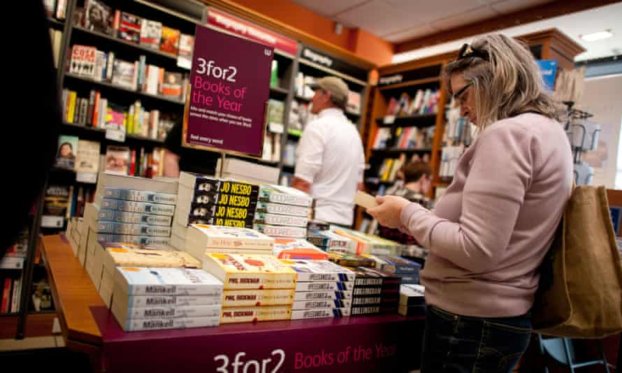 People browsing in a bookshop