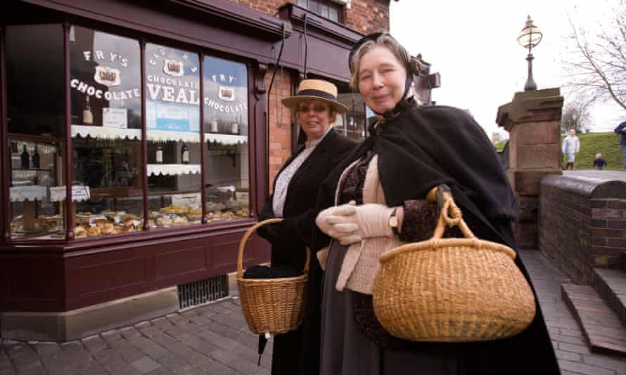 Black Country Museum guides in action in Dudley.