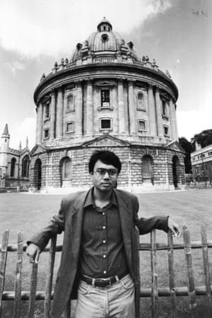 Chaudhuri in Oxford in 1993. Photograph: Martin Argles for Guardian
