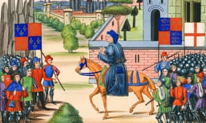 Radical priest John Ball illustrated leading rebels during the Peasants Revolt.
