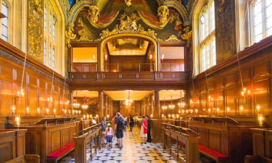 Chapel Royal, Hampton Court Palace.
